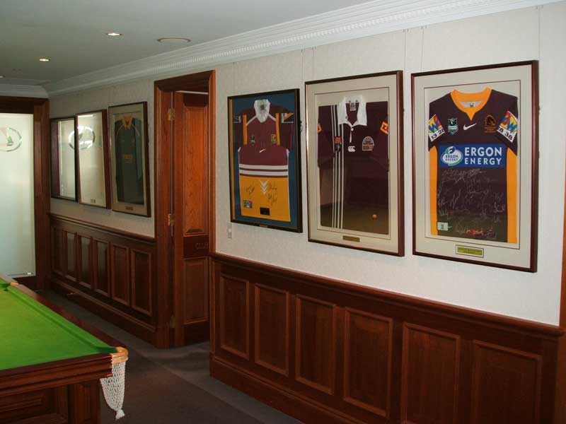 Framed-Sports-Jersey-Hanging-Games-Room